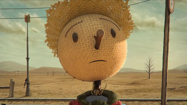 "CHIPOTLE ""THE SCARECROW""Online film 3:22"