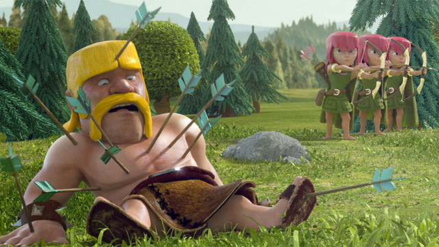 "SUPERCELL ""CLASH OF CLANS"" Online film :60"