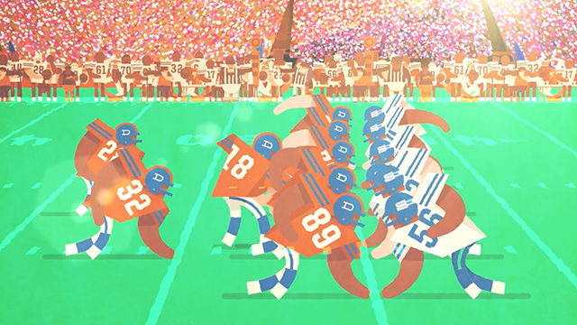&quot;A GUIDE TO AMERICAN FOOTBALL: FOR LIBERALS, LADIES &amp; LIMEYS&quot;<br /> Short film 2:48