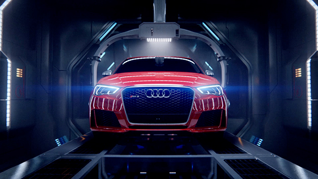 "AUDI ""BIRTH\""<br /><br /> Cinema ad 1:51"