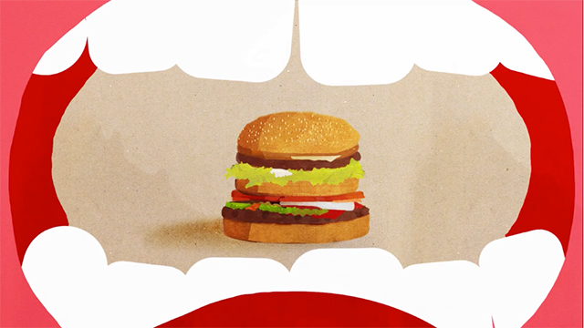 "BURGER KING ""MCWHOPPER\""<br /><br /> Online film 1:37"