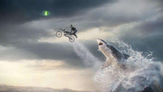 Mountain Dew Green Means Go Shark commercial | STASH MAGAZINE