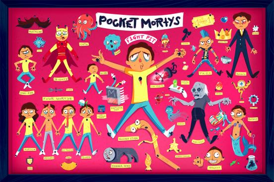 Adult Swim Games Pocket Mortys ID | STASH MAGAZINE
