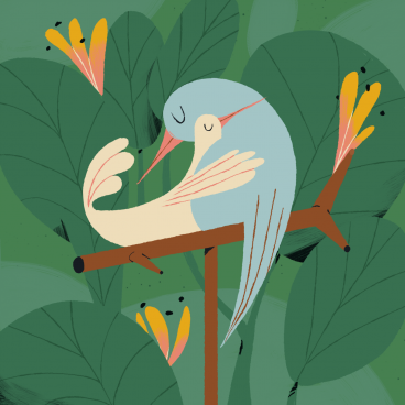 Lovebirds by Gunner | STASH MAGAZINE