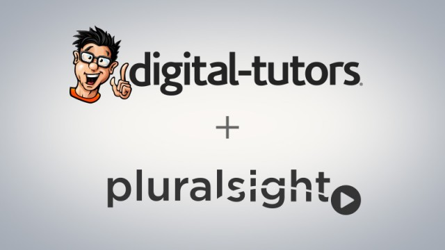 Digital-Tutors + Pluralsight = Save $