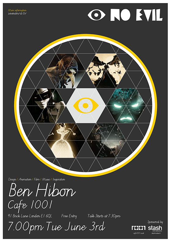 See No Evil Ben Hibon | STASH MAGAZINE