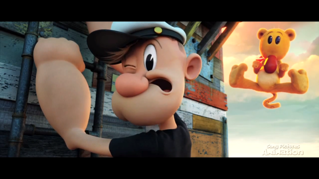 Genndy Tartakovsky: Popeye Animation Test