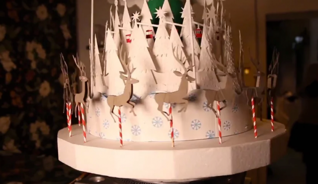 Making-of COMODO's Christmas Zoetropes for TVE