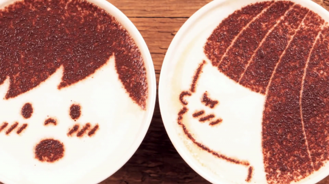 1000 Cups of Stop-motion Latte Love