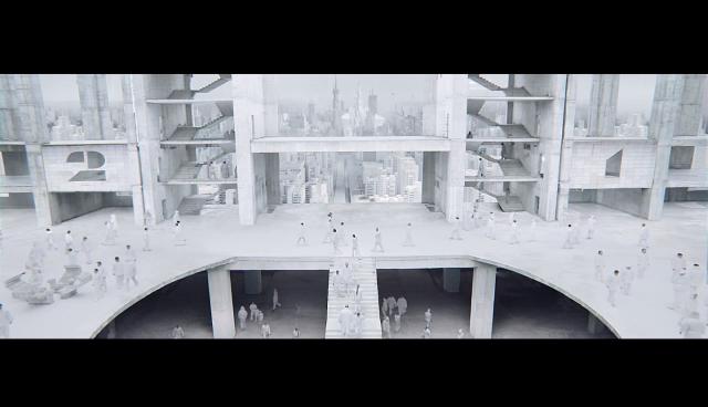 Daniel Wolfe and Glassworks: Dulux