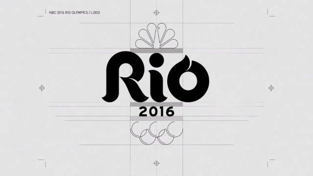 Trollback Builds the NBC 2016 Olympics logo