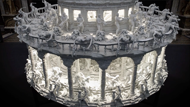 Mat Collishaw's Insane 3D-printed Zoetrope