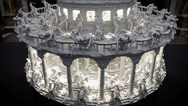 Mat Collishaw's Insane 3D-printed Zoetrope