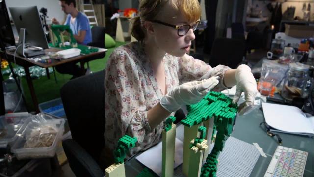 Making LEGO's