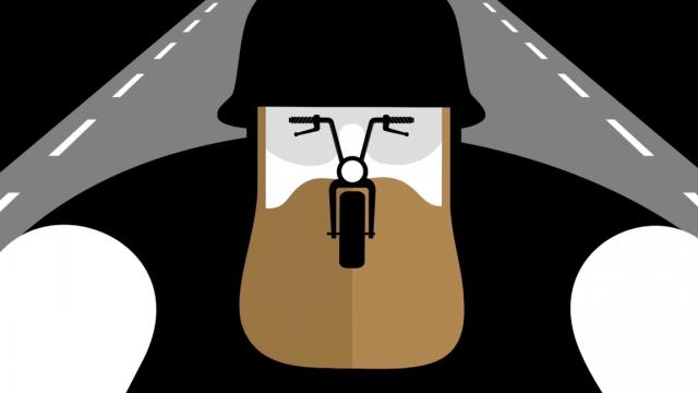 Ale pixel biker Mercedes Ben | STASH MAGAZINE