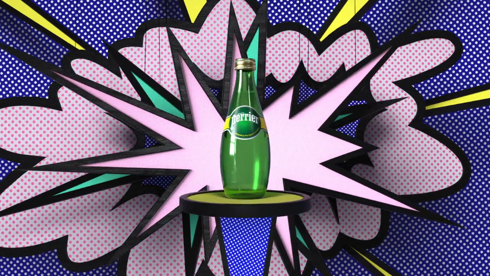 Perrier Unexpected GIFs   STASH MAGAZINE