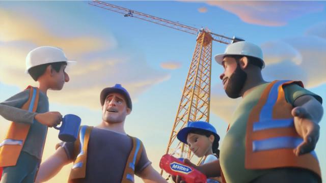 Smith & Foulkes Nexus Mcvitie's Crane Grey animation   STASH MAGAZINE