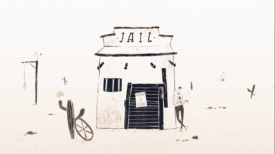 David Stumpf Cowboyland animated shortfilm | STASH MAGAZINE