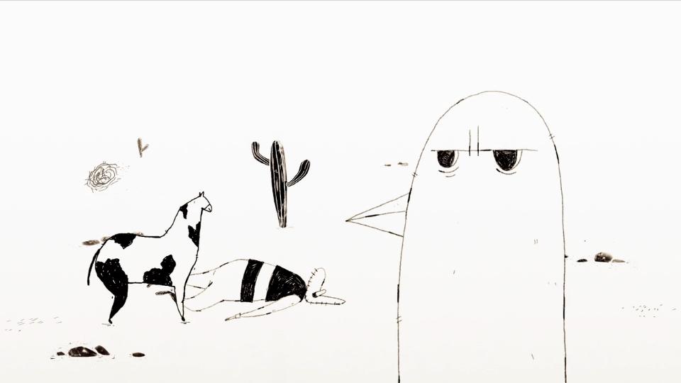 David Stumpf Cowboyland animated shortfilm   STASH MAGAZINE
