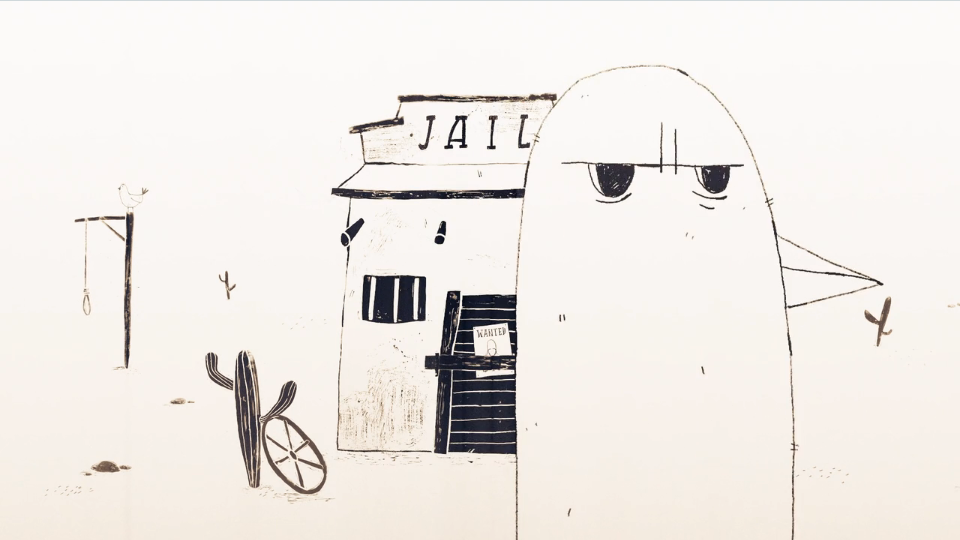 David Stumpf Cowboyland animated shortfilm | STASH MAGAZINE