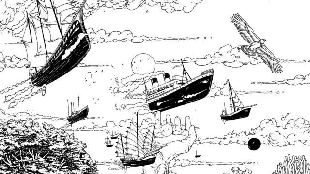 CR CR Ugo Gattoni Hennessy Craft Land animation illustration | STASH MAGAZINE