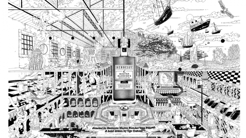 CRCR Ugo Gattoni Hennessy Craft Land animation illustration | STASH MAGAZINE