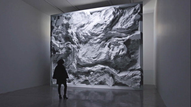 Refik Anadol Engram : Data Sculpture for Melting Memories installation | STASH MAGAZINE