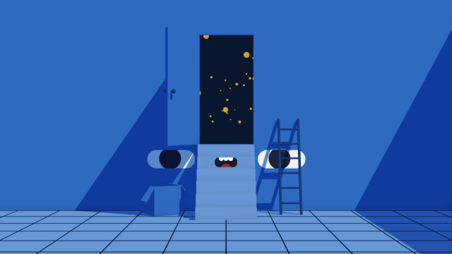 Looking For Something César Pelizer animated short film | STASH MAGAZINE