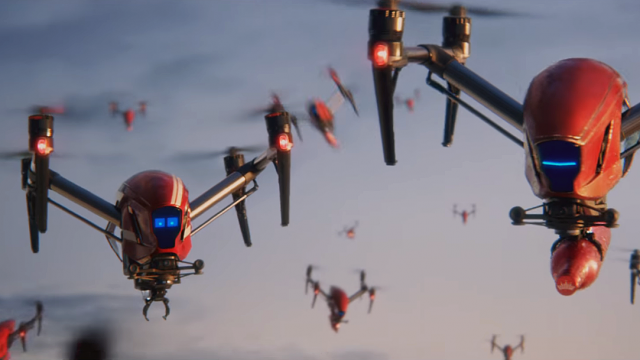 Budweiser Drones Swarm the 2018 FIFA World Cup