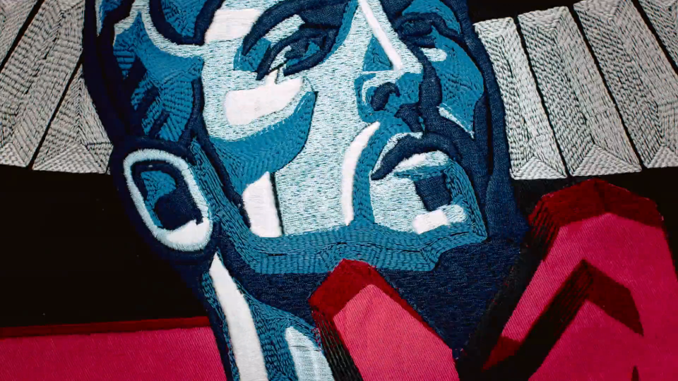 Blinkink Nicos Livesey BBC Tapestry World Cup 2018 | STASH MAGAZINE