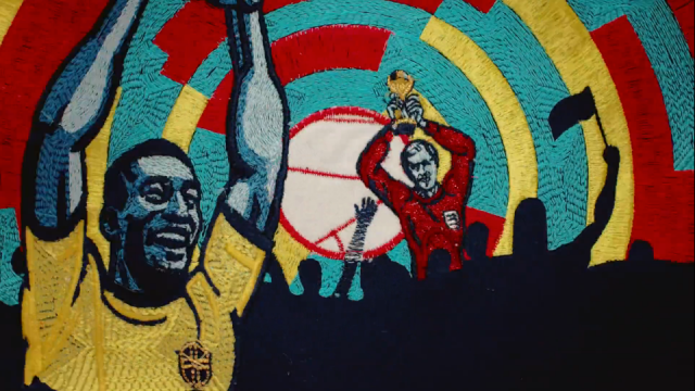 Blinkink Nicos Livesey BBC Tapestry World Cup 2018 | STASH MAGAZINE