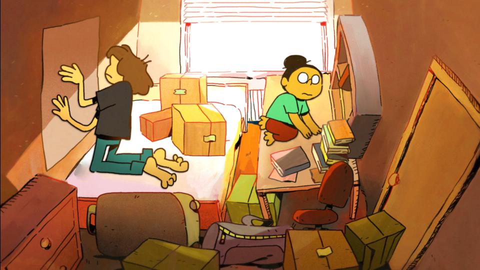 Love Nest Remus & Kiki animated short film Beakus   STASH MAGAZINE
