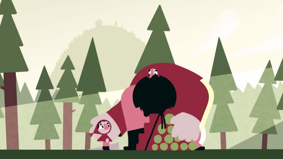 WeTransfer Tend Animade animated short film | STASH MAGAZINE