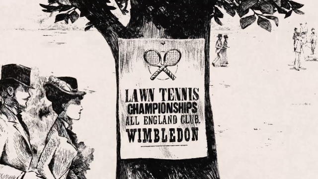Nexus Wimbledon 150 years Smith & Foulkes animation | STASH MAGAZINE