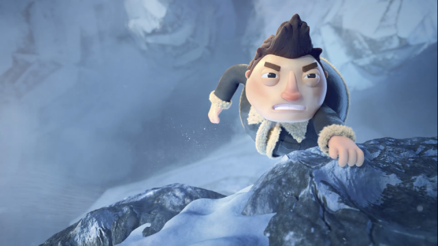The Climb Alex Deaton Preston Gibson animated short film | STASH MAGAZINE
