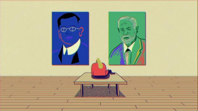 Andrew Khosravani Philosophy Feuds: Freud vs Jung Aeon Video   STASH MAGAZINE