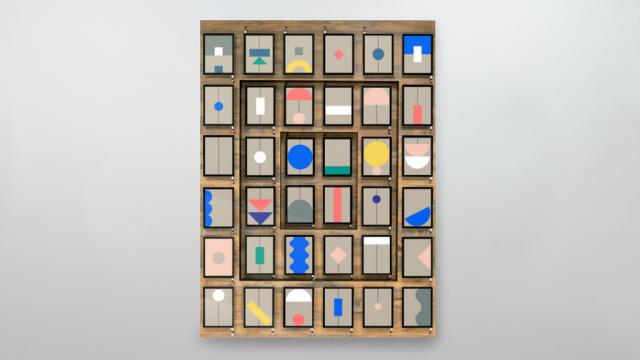 Google Pixel Wall by Buck