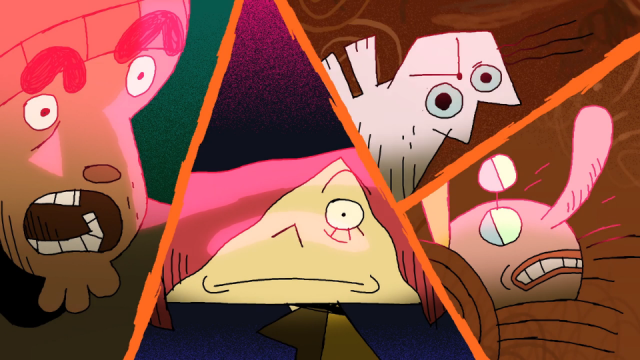 Rob Gillian Hair Today Gone Tomorrow animated short film| STASH MAGAZINE
