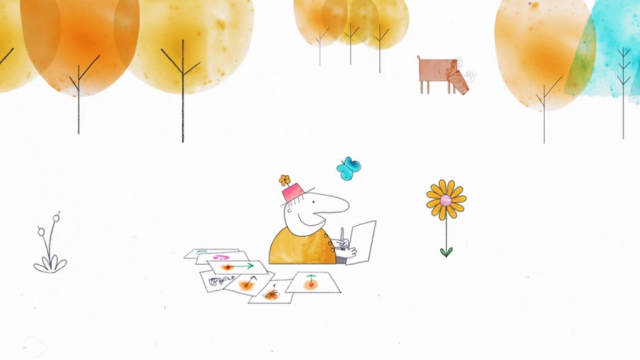Dan Castro Herman Brown is Feeling Down animated short film | STASH MAGAZINE