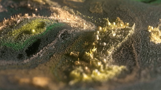 Flow by Nobutaka Kitahara animated short film Houdini Flip | STASH MAGAZINE