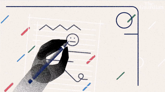 The Guardian Teachers In America animated explainer video George Shelbourn | STASH MAGAZINE