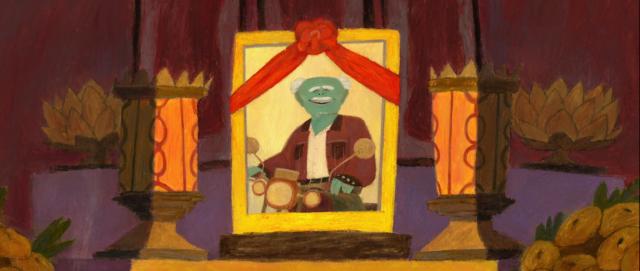 A Gong (Grandpa) short film Gobelins | STASH MAGAZINE