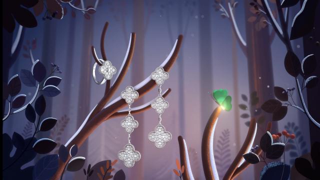 2018-Van Cleef & Arpels - Alhambra Winter by Burcu & Geoffrey ANIMATED brand film | STASH MAGAZINE