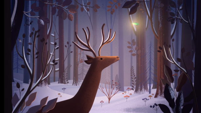 2018-Van Cleef & Arpels - Alhambra Winter by Burcu & Geoffrey ANIMATED brand film | STASH MAGAZINE