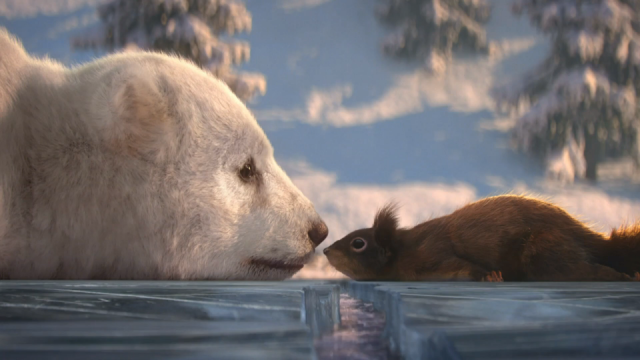 ITV Dancing on Ice 2019 Bear and Squirrel animated commercial | STASH MAGAZINE