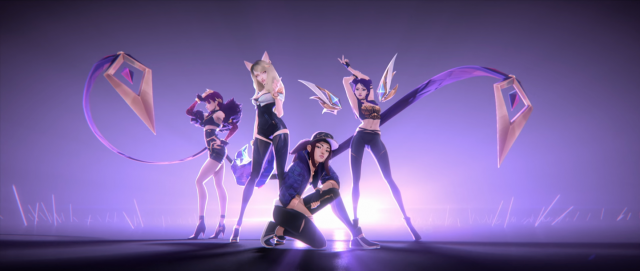 Leagues of Legends K/DA Riot Games by Fortiche | STASH MAGAZINE