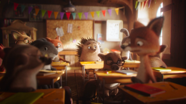 Erste Group 'First Christmas' animated commercial Passion animation  | STASH MAGAZINE