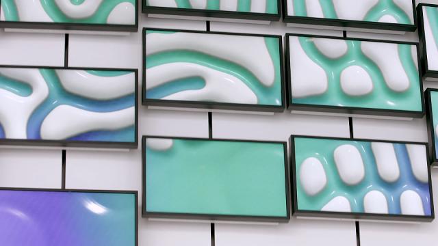 Merck Innovation Center lobby kinetic installation   STASH MAGAZINE