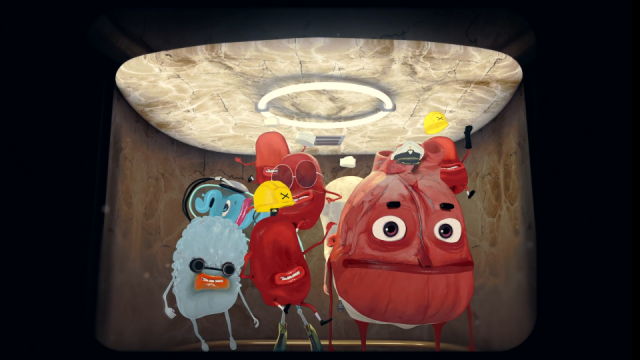 The Brave Heart animated short film by Luca & Sinem Blinkink | STASH MAGAZINE