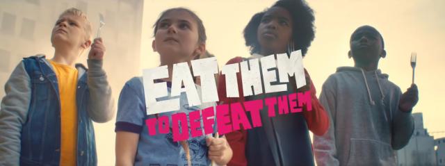 Veg Power Eat Them to Defeat Them Ninian Doff | STASH MAGAZINE